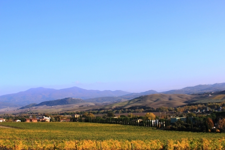 Tuscany at fall photo
