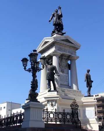 arturo: Monument to the Heroes of Iquique, Valparaiso, Chile