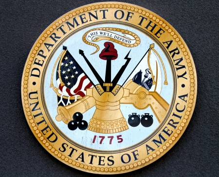 armed services: Department of the Army USA Stock Photo