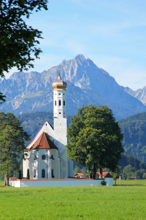 St  Coloman Church, Near Fussen, Bavaria, Germany photo