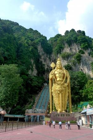 Batu caves near Kuala Lumpur, Malaisia photo