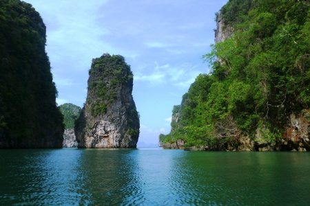 Koh Hong Island at Phang Nga Bay near Phuket, Thailand