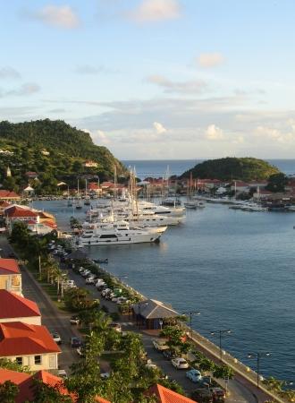 St Barth 港、グスタヴィア、フランス領西インド諸島