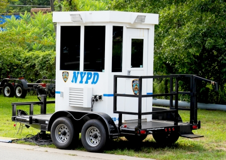 NYPD trailer  Stock Photo - 16225077