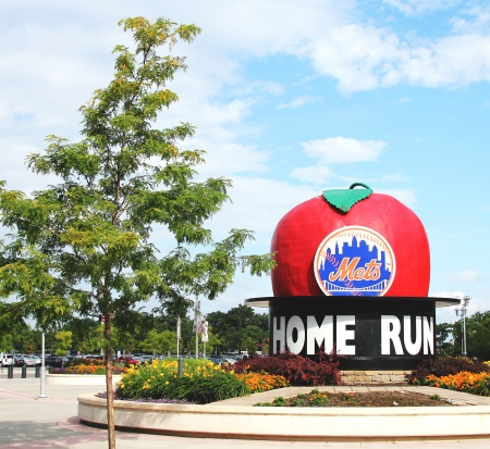 FLUSHING, NY -  AUGUST 26:  Citi Field, home of major league baseball team the New York Mets on August 26, 2012 in Flushing, NY.  Stock Photo - 16225081