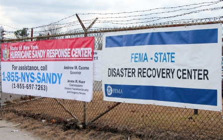 breezy: BREEZY POINT, NY - NOVEMBER 15:  New York State Hurricane Sandy response center and  FEMA  disaster recovery center  in the aftermath of Hurricane Sandy on November 15, 2012 in Breezy Point, NY