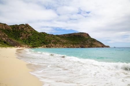 indies: Saline beach, St. Barths, French West Indies Stock Photo