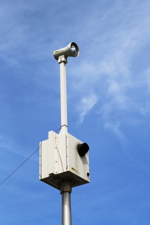 BROOKLYN, NY- APRIL 4: Traffic enforcement  camera placed at the intersection in Brooklyn, NY on April 4, 2013