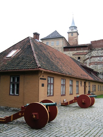 Akershus Castle and Fortress in Oslo, Norway