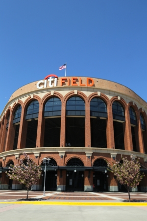 FLUSHING, NY - MAY 2: Citi Field, home of major league baseball team the New York Mets on May 2, 2013 in Flushing, NY. The Mets will host the Major League Baseball All-Star Game on July, 16 2013.