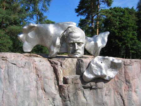 sibelius: HELSINKI, FINLAND - AUGUST 8:Jean Sibelius Monument in Helsinki on August 8, 2005. Jean Sibelius was a Finnish composer of the late Romantic period
