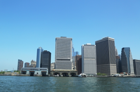 Lower Manhattan Panorama photo