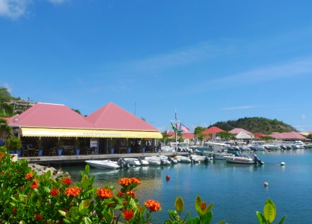 indies: Gustavia Harbor, St. Barts, French West Indies