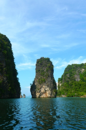 Koh Hong Island at Phang Nga Bay near Phuket, Thailand photo