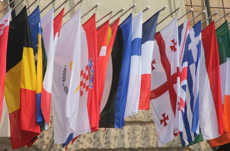 foreign nation: Flags of the world