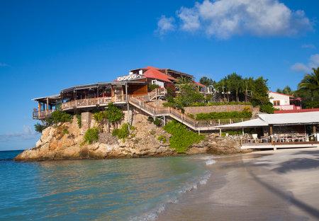 top 7: St Barts, ANTILLAS FRANCESAS - 07 de noviembre El hermoso hotel Eden Rock, el 7 de noviembre de 2012 a St Barts, French West Indies Eden Rock St Barths es uno de los 100 mejores hoteles en el mundo