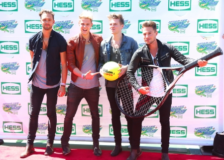 lawson: NEW YORK - AUGUST 24   British pop rock band Lawson attends the Arthur Ashe Kids Day 2013 at Billie Jean King National Tennis Center on August 24, 2013 in New York