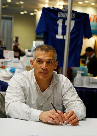 yankees: NEW YORK CITY - DECEMBER 1 New York Yankees General Manager Joe Girardi during autographs session in New York on December 1, 2013