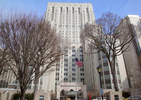 NUEVA YORK - 13 de marzo Nueva York Presbiteriano Weill Cornell Medical Center en Nueva York el 13 de marzo 2014 El hospital est� considerado entre los mejores del mundo y en la actualidad ocupa el puesto s�ptimo en la naci�n
