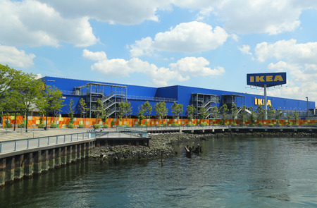 world   s largest: BROOKLYN, NY - AUGUST 17, 2013  Brooklyn s IKEA superstore on August 17, 2013  Founded in Sweden in 1943, IKEA is the world s largest furniture retailer