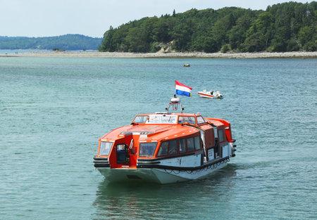 BAR HARBOR MAINE JULY Holland America Cruise Ship Maasdam - Cruise ship bar harbor