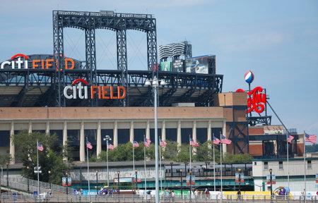 FLUSHING, NY - SEPTEMBER 3  Citi Field, home of major league baseball team the New York Mets on September 3, 2013 in Flushing, NY  Stock Photo - 26990167
