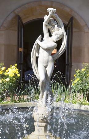 silverado: The beautiful fountain Stock Photo