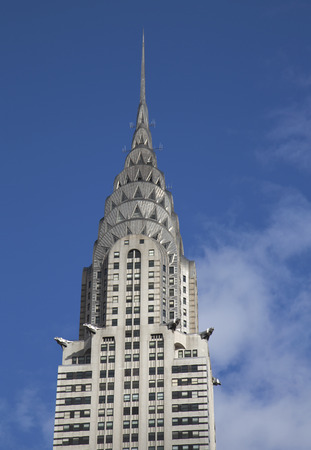 world's: NEW YORK - APRIL 27  The Chrysler Building on April 27, 2014 in New York  The Building was the world s tallest building for 11 months in 1931
