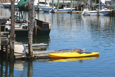 freeport: FREEPORT, NEW YORK - MAY 29  Sea canoe in Freeport, Long Island on May 29, 2014  Editorial