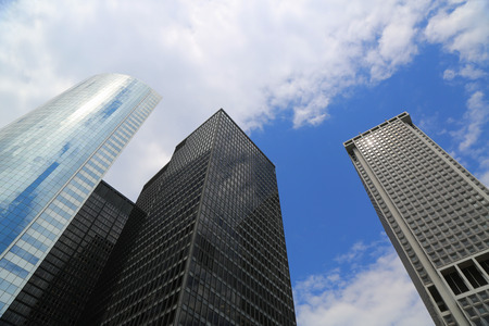Skyscrapers in New York City photo