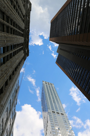 Skyscrapers in New York City  photo