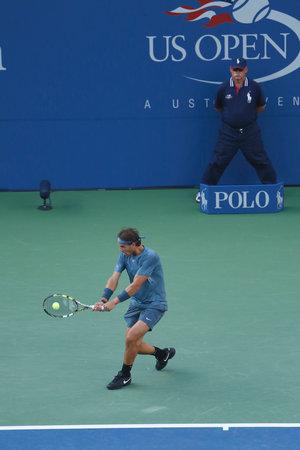 billie: NEW YORK - SEPTEMBER 9  US Open 2013 champion Rafael Nadal during final match against Novak Djokovic at Billie Jean King National Tennis Center on September 9, 2013 in New York