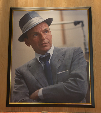 travel features: LAS VEGAS, NEVADA - MAY 10: Forbes Travel Guide Four-Star Sinatra Restaurant Interior at Encore Las Vegas Casino on May 10, 2014. It is only Italian restaurant sanctioned by Frank Sinatra s family