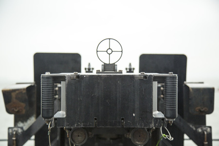 gun sight: Machine gun sight