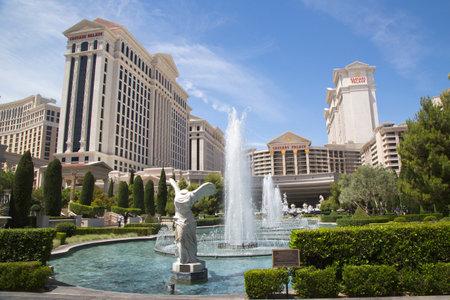 ラスベガス、ネバダ州 - 2014 年 5 月 9 日: シーザーズ パレス ラスベガス ラスベガス ホテル ・ カジノ。シーザース パレスは、高級ホテルやカジノ 6