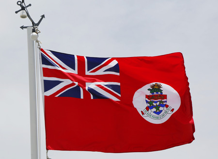 cayman islands: Civil Ensign of the Cayman Islands or Maritime Flag of the Cayman Islands
