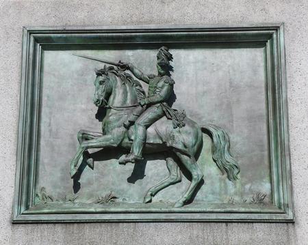 worth: General Worth Plaque in Manhattan