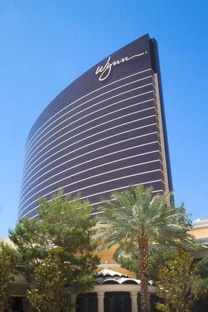 billion: LAS VEGAS, NEVADA - MAY 11, 2014: The Encore Hotel and Casino in Las Vegas. The US$2.7 billion resort is named after casino developer Steve Wynn Editorial