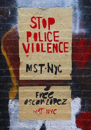 street signs: Street signs in East Harlem, New York
