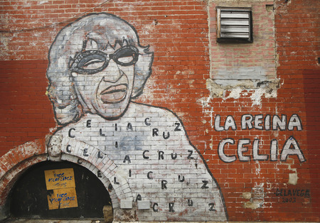 NEW YORK - MARCH 26, 2015: Mural art at East Harlem in New York