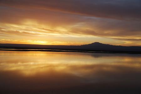 Sunset in Atacama Desert, Chile