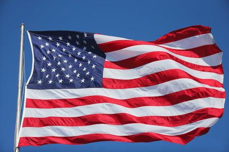 Bandera de Estados Unidos Foto de archivo - 40149559