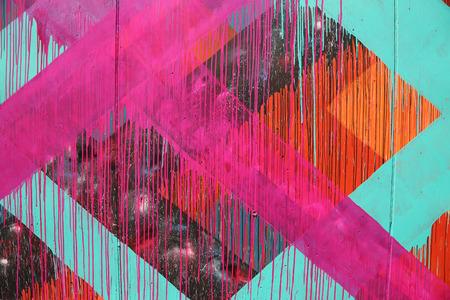 urban colors: NUEVA YORK 07 de junio 2015: el arte mural en el nuevo arte atracción calle Paredes Coney Arte en la sección de Coney Island en Brooklyn