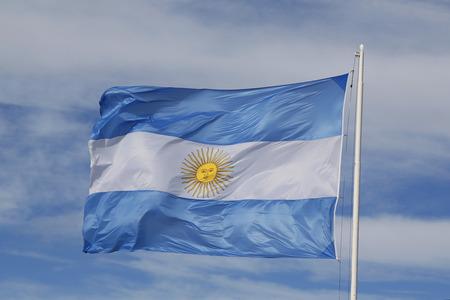 Flag of Argentina 版權商用圖片