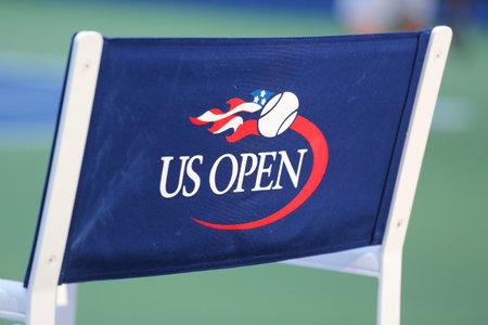 TENIS: NUEVA YORK 25 de agosto 2015: Estadio Arthur Ashe en el Centro de Billie Jean King National Tennis listo para el US Open torneo en Nueva York