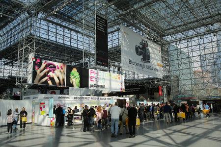 Photoplus 会議と博覧会・ ジャビッツ ・ センター ニューヨーク - 2015 年 10 月 22 日: 登録エリア