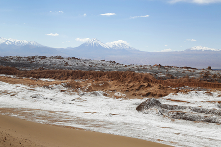 moon  desert: Moon Valley or Valle de la Luna Landscape in Atacama Desert, Chile, South America