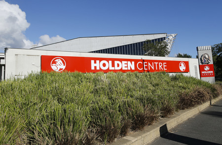 precinct: MELBOURNE, AUSTRALIA -JANUARY 24, 2016:Holden Centre in Melbourne.The Holden Centre is a sports administration and training facility in the Melbourne Sports and Entertainment Precinct