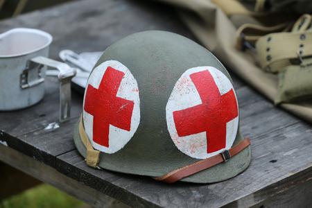 World War II American military memorabilia Reklamní fotografie