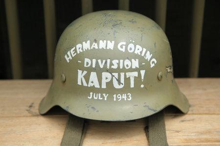 World War II American military memorabilia Editorial